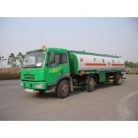 Wholesale 22000L FAW Carbon Steel Oil Tank Truck 6x2 , Oil Transportation Trucks from china suppliers
