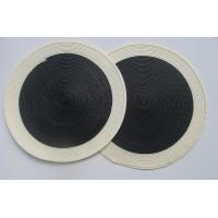 Wholesale Round placemat,  knitting placemat , woven table mat from china suppliers
