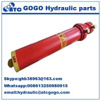 Wholesale Multi Stage Metallurgy Hydraulic Oil Cylinder Foot Mounting Long Stroke , Telescopic from china suppliers