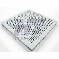 Quality Recyclable Aluminum Raised Floor High Load Capacity 600mm x 600mm for sale