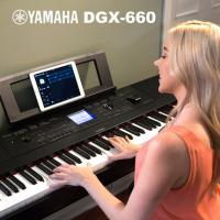 Wholesale Yamaha DGX-660 - Portable Grand Digital Piano (Black) from china suppliers