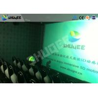Wholesale 2 Years Warranty 5D Motion Theater Pneumatic System With Luxury Chair Motion Seat from china suppliers