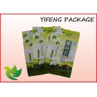 Wholesale Tea Reclosable Plastic Stand Up Pouches Gravure Printing With Zipper from china suppliers