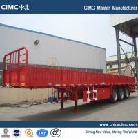 Wholesale tri-axle flat bed semitrailer from china suppliers