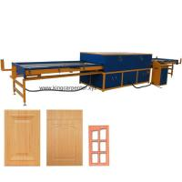 Wholesale Woodworking Door Cabinet PVC film Vacuum Membrane Press Machine from china suppliers