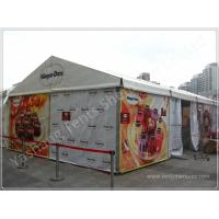 Wholesale Custom Aluminum Frame Printed Fabric Tent Structures , Corporate Event Tent from china suppliers