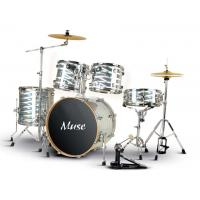 Wholesale professional Radium 5 Piece Silver sound percussion junior drum set OEM from china suppliers