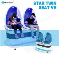 Buy cheap Luxury Cabin 9D Virtual Reality Cinema / VR Motion Ride simulator For Theme Park from wholesalers