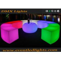 Wholesale Modern Bar Nightclub Furniture Lighted Up Illuminated Apple Shape Bar Table from china suppliers