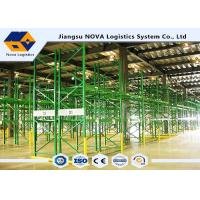 Wholesale Galvanized Steel Pallet Warehouse Racking Storage High Density from china suppliers