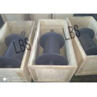Quality LBS Manufacture Grooved drums with Cable/ Black Winch Reel for sale