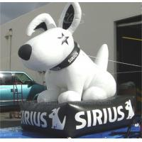 Wholesale Event Decoration Sirius Dog Inflatable White Lead Free Digital Printing from china suppliers