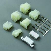 Buy cheap Alternative of  Tyco TE AMP 1-0480705-0 and 1-0480704-0  6.35MM pitch male plug socket and female terminal from wholesalers