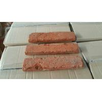 Wholesale Red Clay Old House Bricks , Old Looking Bricks For Coffee Bar Antique Style from china suppliers