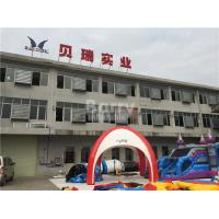 Wholesale Plato PVC Tarpaulins Inflatable Event Tent with Silk Printing For Outdoor Games from china suppliers