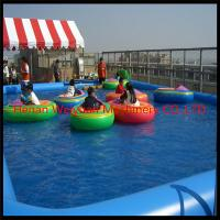 Wholesale 0.9mm PVC Inflatable water pool for balls and boats from china suppliers