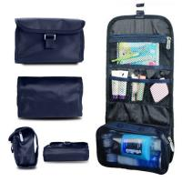 Wholesale Travel Toiletry Washing Bag Makeup Case-polyester kit bag-easy traveling bag-foldable travel handbag with hooks from china suppliers