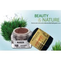 Wholesale Maroon Natural Cosmetic Tattoo Ink Permanent Makeup Cream Pigment from china suppliers