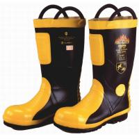 Wholesale Marine SOLAS / MED CE Cerificate Rubber Fireman Boots Harvik 9687L from china suppliers