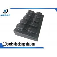 Quality Ten Ports Security Guard Body Docking Station For Camera Police Use for sale