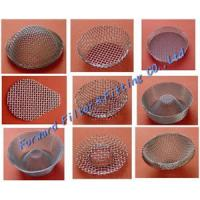 Wholesale Corrosion Resistance SS316L / SS304 Metal Mesh Filter Filter Cap , Filter Pipe , Filter Cap , Filter Basket from china suppliers