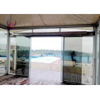 Buy cheap Prefabricated Cabin With Membrane Roofing And Insulation , Glass WallsLuxury Tent Hotel For Parkland from wholesalers