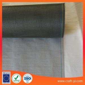 Wholesale gray color 17X 14 fiberglass mesh screen door from china suppliers