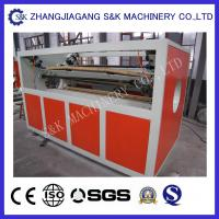 Wholesale High Efficiency PP PE Plastic Pipe Extrusion Line Dust - Free Cutting Mode from china suppliers