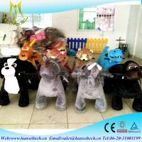Wholesale Hansel amusement ride manufacturers electrical toy animal riding ride coin operated electric toy car animal electric car from china suppliers