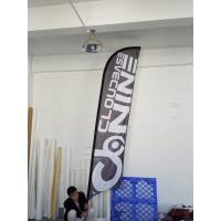 Wholesale Medium 3.4m Feather Flags Banner Exhibition Events Retail Display Merchandise from china suppliers