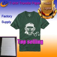Wholesale dark color heat transfer paper t-shirt transfer paper a4 size from china suppliers