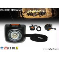 Wholesale 4000 Lux Brightness Mining Cap Lights With OLED Display 4.5Ah Li - Ion Battery from china suppliers