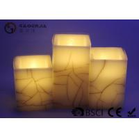 Wholesale Customized Wax Electric Candles , Decorative Electric Flameless Candles from china suppliers