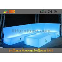 Wholesale Waterproof Bar and club illuminated sofa with lithium battery from china suppliers