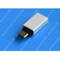 Buy cheap Type C Male to USB 3.0 A Female Apple Micro USB White With Nickel Plated Connector from wholesalers