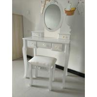 Wholesale Contemporary Big White Wooden Target Dressing Table from china suppliers