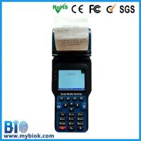 Wholesale Wireless fingerprint and RFID Pos terminal with built-in printer Bio-FH08 from china suppliers