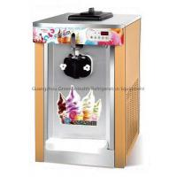 Wholesale 3 Flavors Table Top Soft Serve Ice Cream Machine With LED Display from china suppliers