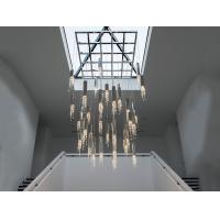 Wholesale Sexy Crystal Led Pendant Lights , LED Suspension Lighting for Luxury Villas from china suppliers