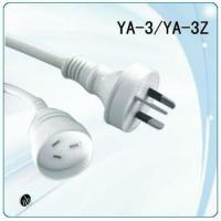 Wholesale SAA ordinary duty extension cord with metal butt plug from china suppliers