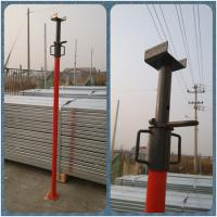 Quality adjustable 2.1-3.8m pained/Galvanzied Scaffolding Steel props/ Shoring props for sale