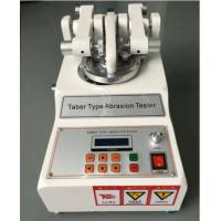 Wholesale Taber Rubber Abrasion Testing Machine , Abrasion Tester , Fabric Taber Abrasion Tester Machine from china suppliers