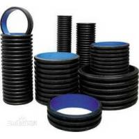 Wholesale Black HDPE Underground Electrical Conduit Plastic Pipe Low Temperature Resistance from china suppliers