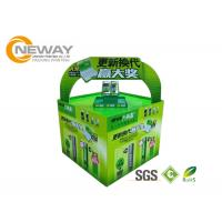 Wholesale Light Duty Paper Cardboard Pop Up Display Stands / Pop Cardboard Point Of Purchase Displays from china suppliers