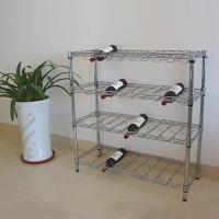 Wholesale 4-Tier Metal Wine Rack (HK-CS-WA04) from china suppliers