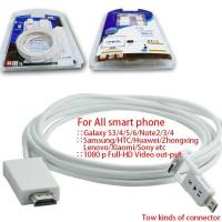Wholesale MHL Cable to HDMI male adapter cable for All Android Smart Cellphones from china suppliers