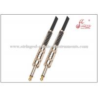 Wholesale Spiral PVC Audio PA Systems Black 6mm Black Instrument Guitar Cable from china suppliers