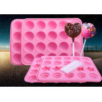 Wholesale 20 Holes Durable Food Grade Silicone Candy Molds Easy To Collect from china suppliers
