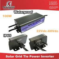 Wholesale 100w Micro grid tie inverter  with waterproof for outdoor use from china suppliers