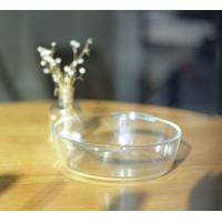 Wholesale Airtight / Watertight Pyrex Glass Bowls With Lids Clear Eco-Friendly from china suppliers